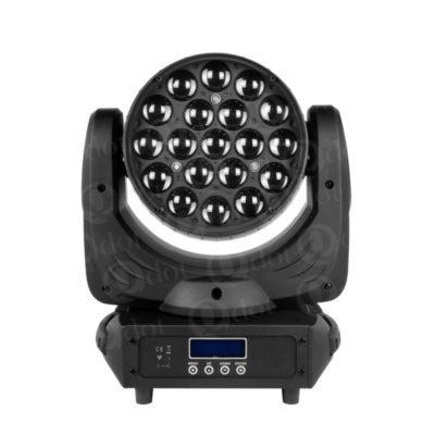 19pcs 15w 4in1 led wash zoom moving head light