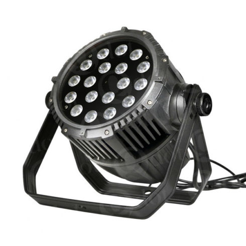 QUADPAR 180IP 18pcs 10W CREE 4in1 LED outdoor par light