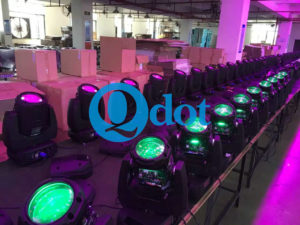 moving head beam aging test