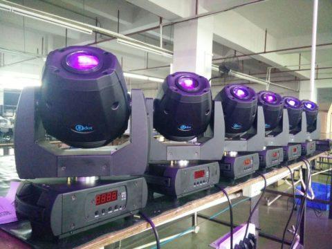 LEDSPOT 50M production line