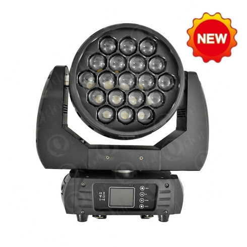 QZOOM 1915FP 19pcs 15W 4in1 mini zoom wash light