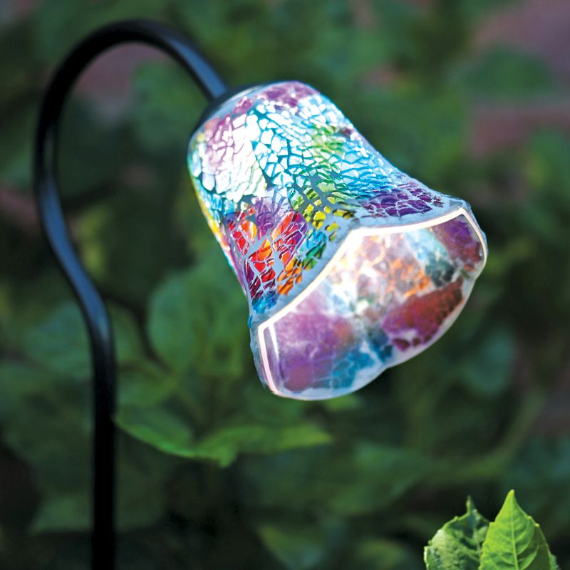 Mosaic Solar Light Tulip  Buy Online at QD Stores
