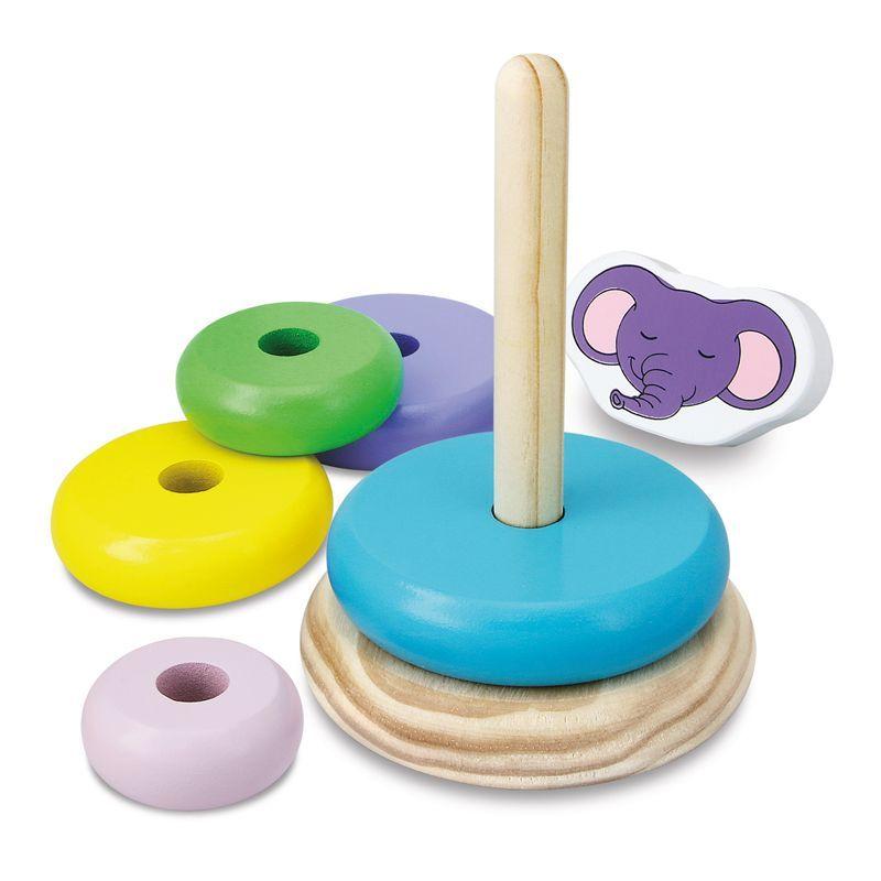 Games Hub Kid's Stacking Rings Toy