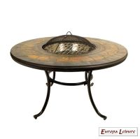 Durango Fire Pit Garden Table - Coffee - Buy Online at QD ...