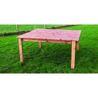 4 Seat Scandinavian Redwood Dining Set Garden Furniture ...