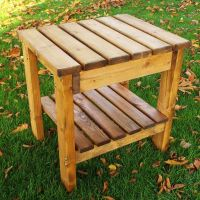 Companion Scandinavian Redwood Table Garden Furniture ...