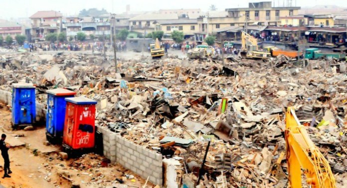 Oshodi market demolition