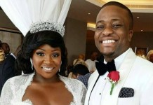 Toolz and husband Tunde Demuren