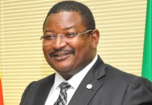 Former Group Managing Director of the Nigerian National Petroleum Corporation NNPC Andrew Yakubu