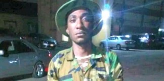 Lance Corporal Victor Chukwunonso serving soldier who worked for kidnap suspect Evans