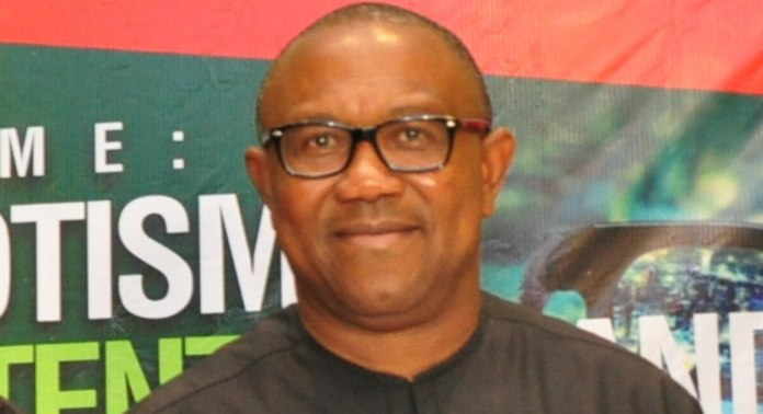 Former Anambra State Governor Peter Obi