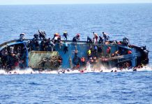 migrants shipwreck refugees