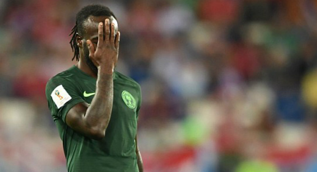 Image result for Victor Moses Retires From International Football