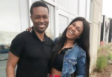 Omoni Oboli and husband