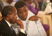 Yemi Osinbajo and Enoch Adeboye