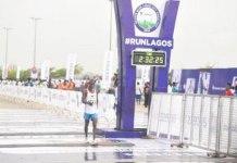 Gideon Goyet lagos city marathon