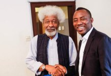 soyinka and sowore