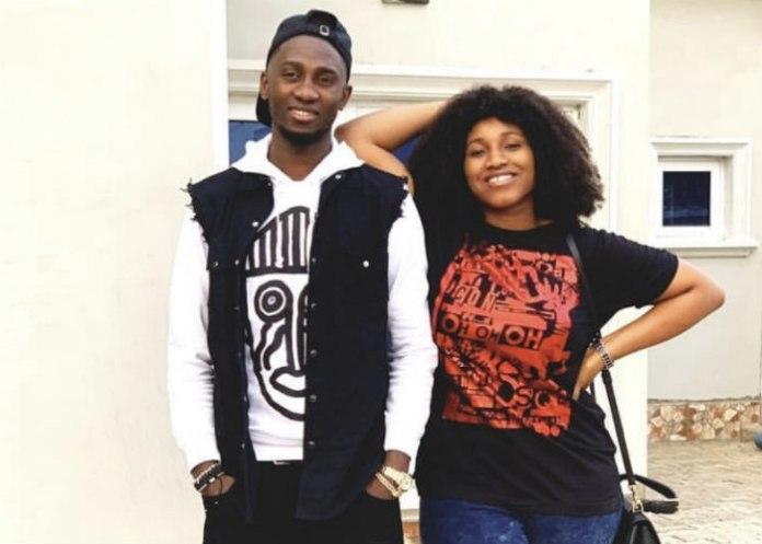 Wilfred Ndidi and girlfriend