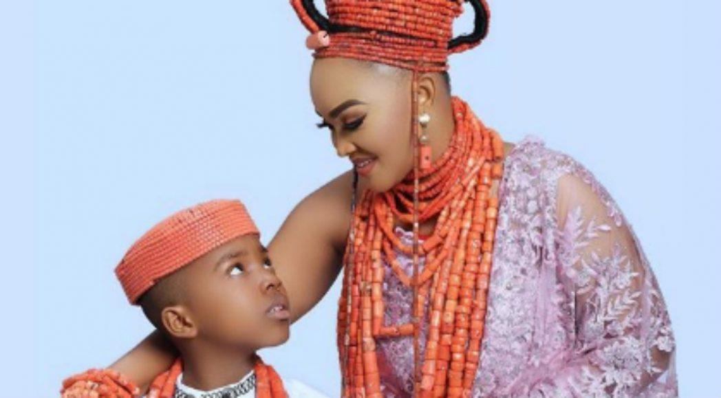 Mercy Aigbe celebrates son on ninth birthday - QED.NG