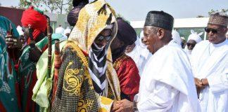 Muhammadu Sanusi and Abdullahi Ganduje