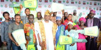 Dapo Abiodun and Glo Ojude Oba 2019 winners