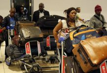 Nigerians returning from South Africa over xenophobia