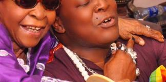 Charly Boy and mum