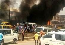 Upper Iweka Onitsha fuel tanker explosion