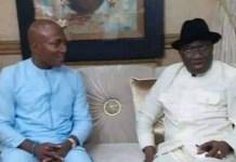 Bayelsa governor-elect, David Lyon, visits Goodluck Jonathan