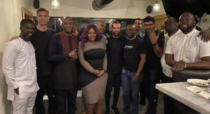 Twitter founder, Jack Dorsey, speaks Yoruba in company of Toolz, Joe Abah, others