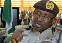 Muhammed Babandede CG Nigeria Immigration Service