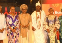 Ooni, Bisi Fayemi, others at FirstBank, Africa Fashion Week