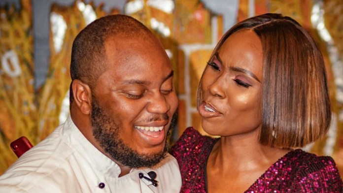 Lala Akindoju and husband