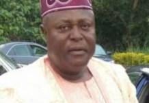 Chairman Ejigbo Local Government Osun Gbenga Ayegbayo dies