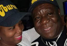 Mr Ibu and wife Stella Maris Okafor