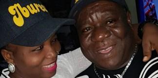 Mr Ibu and wife Stella Maris Okafor