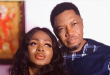 Nollywood actor Ernest Obi and wife