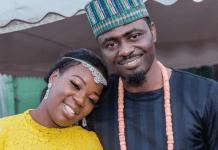 Kenyan gospel singer Ruth Matete and husband John Apewajoye
