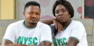 NYSC members, Felicia Haruna and Mark Makafan, getting married in Kaduna