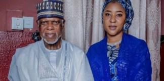 Nigeria Customs Service DG Hameed Ali and wife