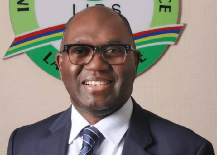 LIRS Executive Chairman Ayodele Subair