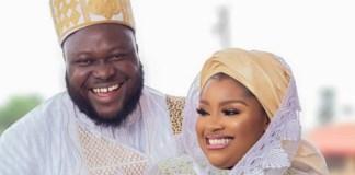 Yoruba actress Olatoun Olanrewaju and husband