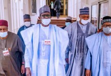 North East governors led by Borno Governor Babagana Zulum
