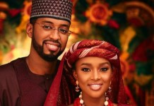 Hanan Buhari and husband Mohammed Turad