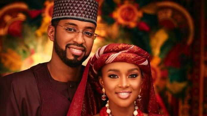 Hanan Buhari and husband Mohammed Turad