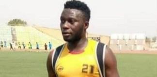 Late Crown FC player Usman Yusuf