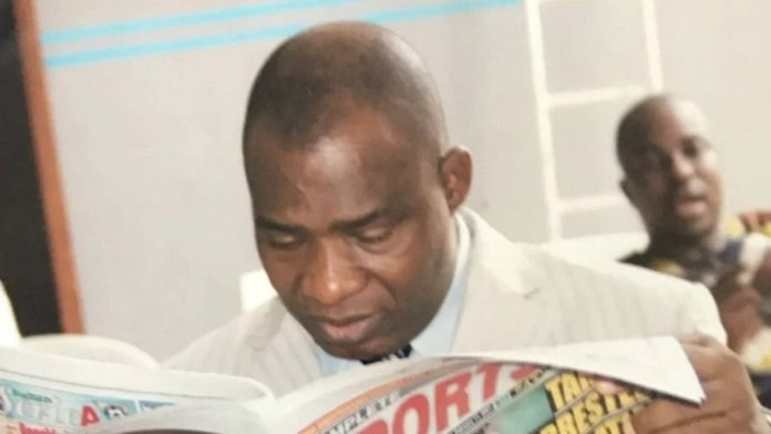 Complete Sports publisher Sunny Ojeagbase