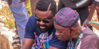 Kunle Afolayan and Tunde Kelani