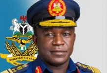 Chief of Air Staff Oladayo Amao