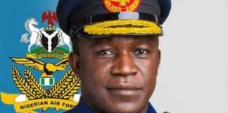 Chief of Air Staff Oladayo Amao